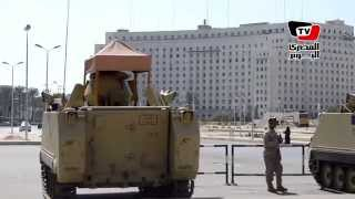 تواجد كثيف لقوات الجيش بميدان التحرير في ثاني أيام العيد