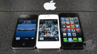 iPhone 4 vs iPhone 4S vs iPhone 5_ Shut Down, Boot Up, Launching Apps