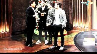 Il Volo on Brazilian TV - Amaury Jr Show
