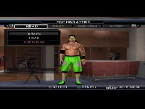 Wwe 14 Ssp Jey Uso  2013 Caw Formula Ps2 video