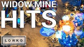 StarCraft 2: BIG WIDOW MINE CONNECTIONS!