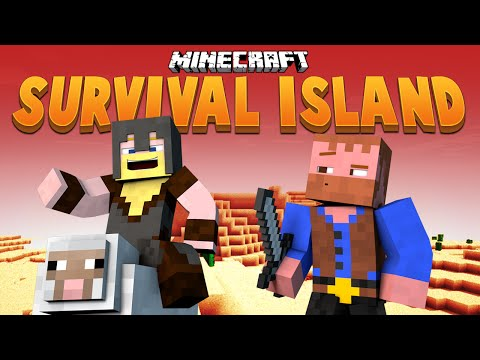 PLAY ALONG WITH US ★ Minecraft Survival Island (1)