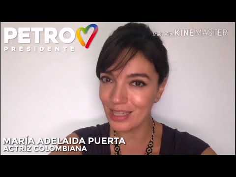 La actriz María Adelaida Puerta, protagonista de