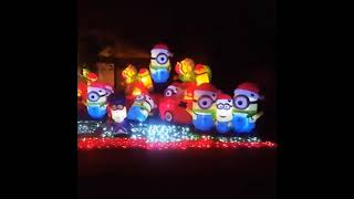House in Indiana Has Gone Minion Mad With Christmas Decorations