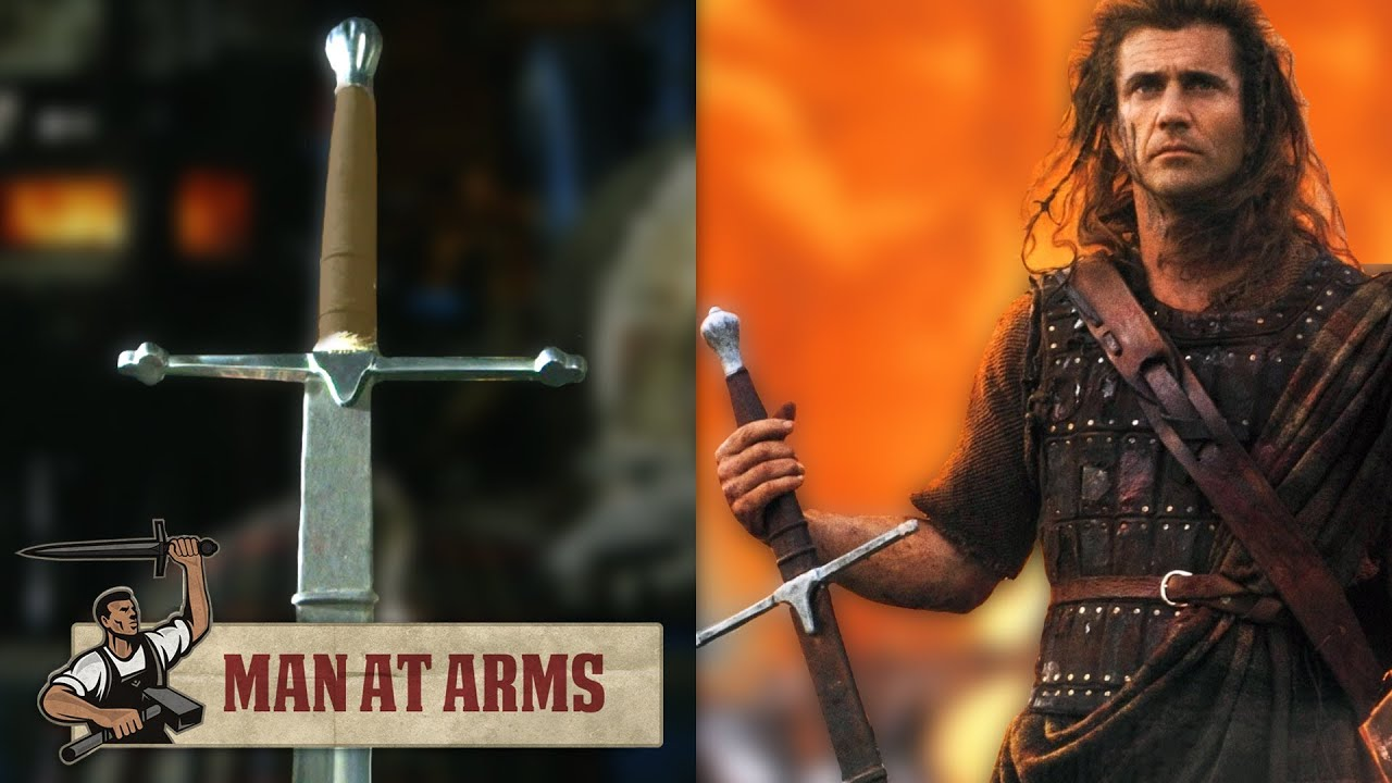William Wallaces Claymore Braveheart MAN AT ARMS