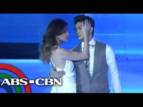 Anne, Vhong in Dirty Dancing number