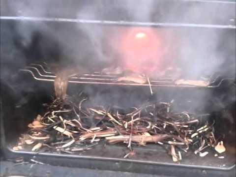 Копчение камбалы в домашних условиях в коптильне горячего копчения