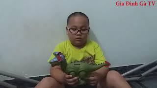 TOY | Bé học màu sắc với khủng long đồ chơi | Baby learn colors with toy dinosaurs | dinosaur toys