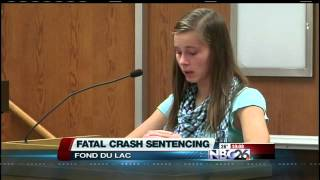 Campbellsport Teen Sentenced in Fatal Crash