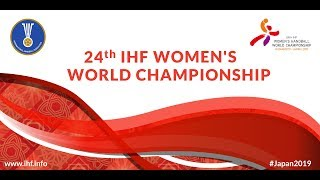 Group B Germany vs Korea 24th IHF Womens World Championship 2019