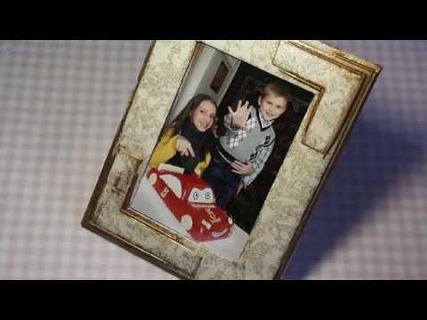 Рамка для фото своими руками. Photo frame - DIY