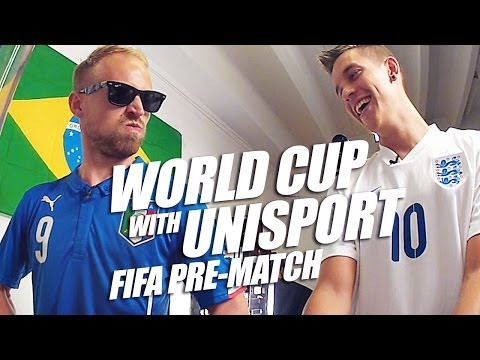 England vs Italy pre-match FIFA - World Cup with Unisport