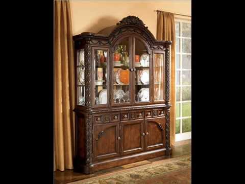 North shore dining room set 11 piece by millennium by ashley furniture d553 2462 youtube - Ashley north shore dining room set ...