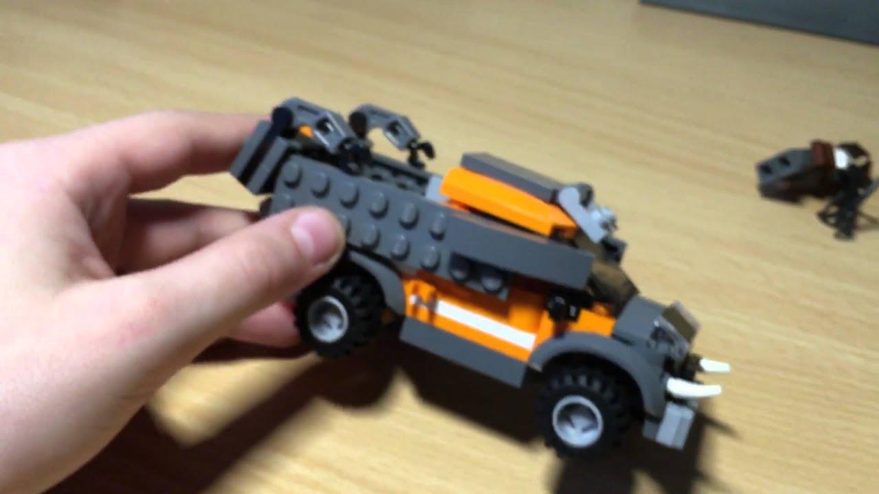 Как из лего сделать зомби машину