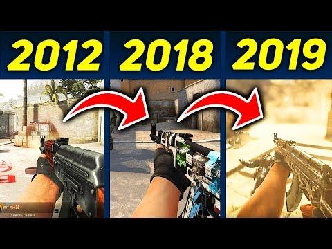 ПЕРВАЯ КАТКА В CS:GO 2011 ГОДА!!! КАК ВЫГЛЯДЕЛА БЕТА КСГО?