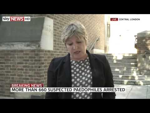 More Than 600 Paedophile Suspects Arrested