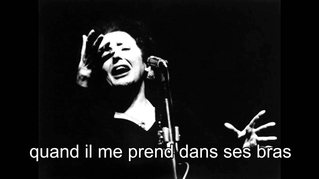 Beau Billingslea Wallpapers Edith Piaf La vie en rose With lyrics YouTube