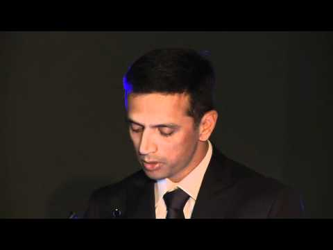 Rahul Dravid Speech -- Sir Donald Bradman Oration 2011
