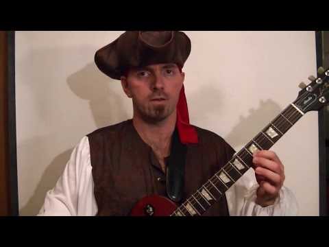 PIRATES OF THE CARIBBEAN Guitar Lesson Theme  (With Tabs) Music Videos