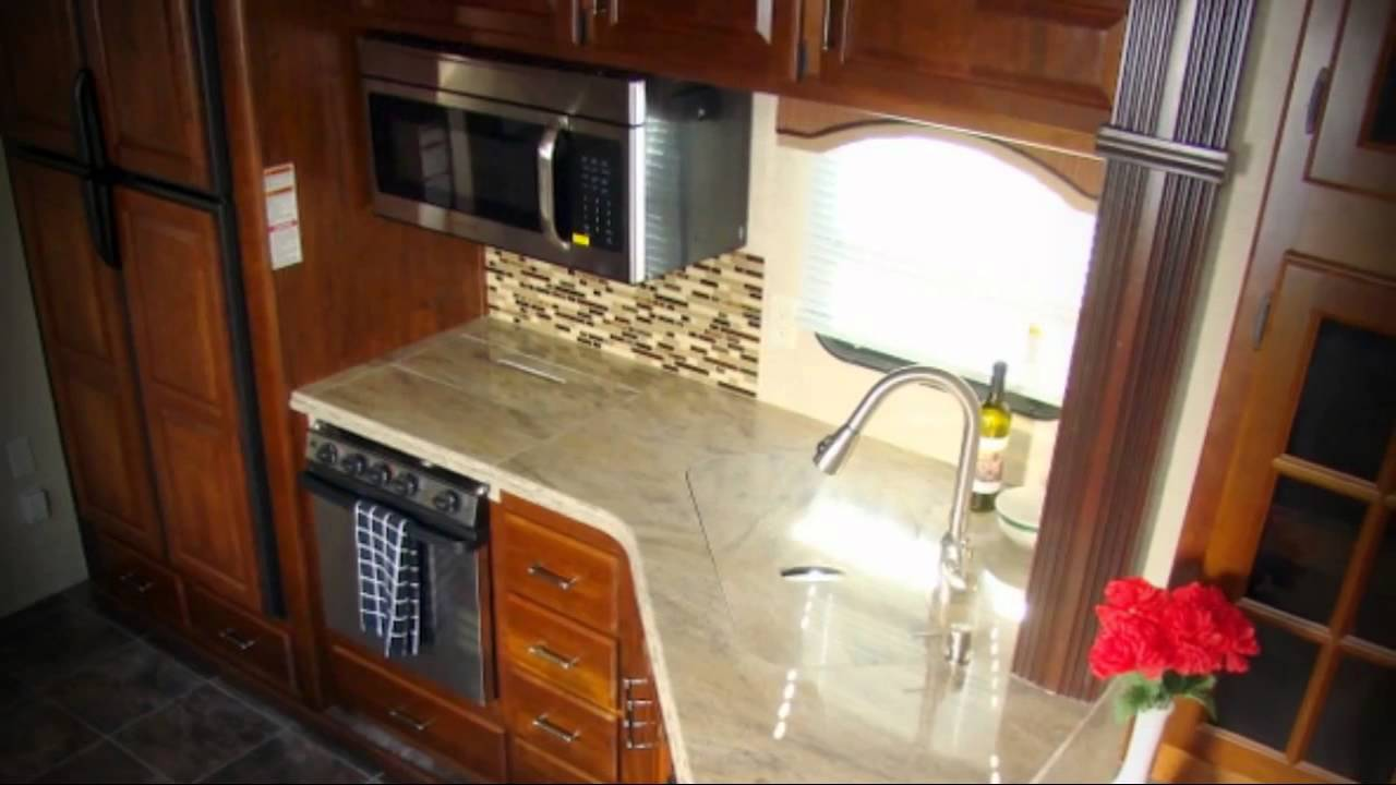 2014 Keystone Alpine 3495fl Front Living Room Fifth Wheel