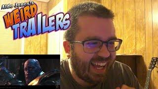 AVENGERS INFINITY WAR Weird Trailer #2 by Aldo Jones Reaction!!!