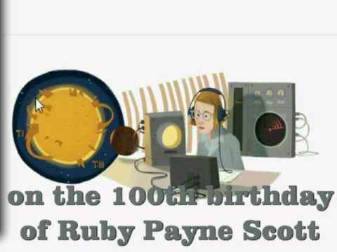 Celebrating Google Doodle for Ruby Payne Scott - the First Female Radio Astronomer