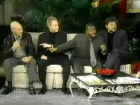 The Men of TNG on The View Pt 4 Patrick Stewart, Jonathan Frakes, LeVar Burton, Brent Spiner