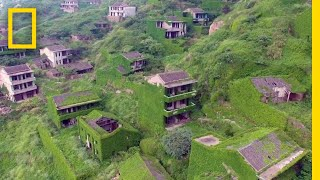Plants Are Taking Over This Abandoned Fishing Village | National Geographic