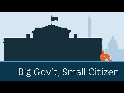 small versus big government essay Big vs small government after reading both articles about opinions on big and smaller government the truth came out big vs small government essay.
