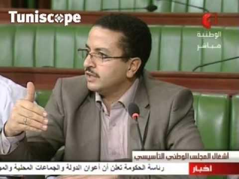 image vidéo حبيب خضر يقترح عدم ادراج عنوان النشيد الوطني في الدستور