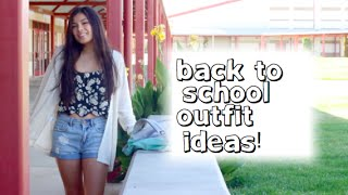 5 Back to School Outfit Ideas!