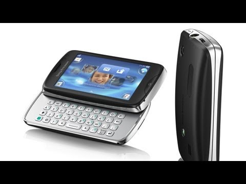 Video: Sony Ericsson txt pro