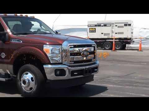 Ford F350 vs. Dodge Ram vs. Chevy GMC Sierra Truck Challenge MEGA TEST