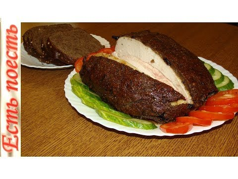 """""""Бородинская"""" курочка. Нежное и ароматное мясо под необычной корочкой."""