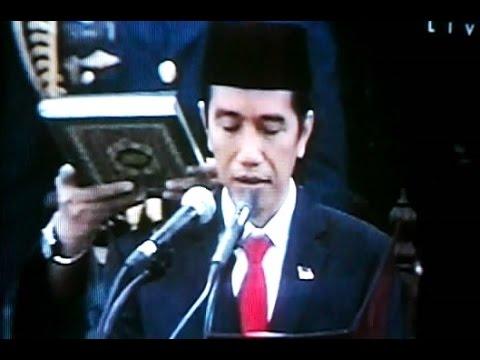 PELANTIKAN JOKOWI Presiden Republik Indonesia - Inaugural Ceremony President [HD]