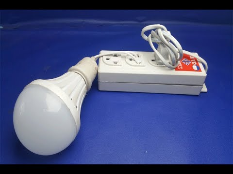 "Free Energy Generator for light bulb ""Free Energy"" || simple at home 2018  (ORIGINAL) thumbnail"