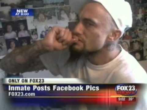 Murder Inmate Posts Shocking Facebook Pics