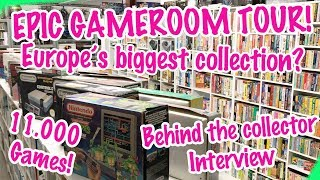 Epic Game Room Tour! Behind The Collector JNoxx (feat. Pixel Game Squad)