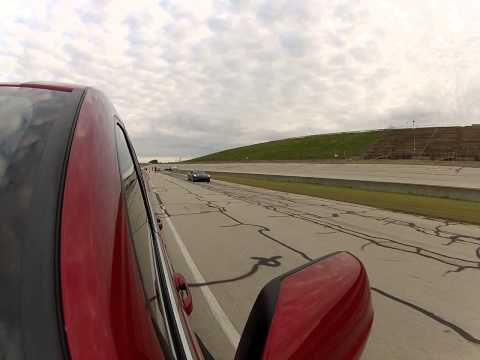 Jeep SRT8 vs. C6 Corvette