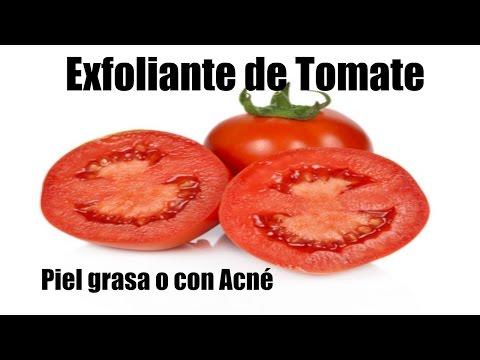 Exfoliante Natural de Tomate para Piel Grasa o con Acné  ♦ consaboraKaFé