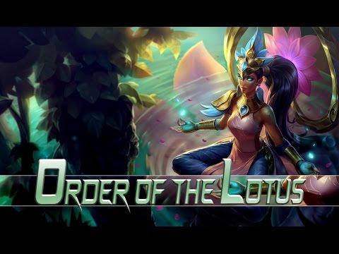 League of Legends: Order of the Lotus Karma (Skin Spotlight)