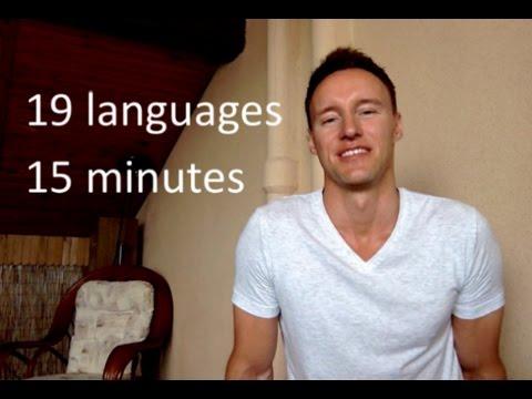 European speaks 19 languages