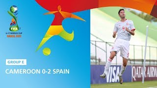 Cameroon v Spain Highlights - FIFA U17 World Cup 2019 ™