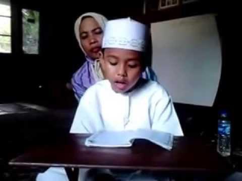 Anak Umur 5 Tahun Udah Pinter Ngaji, Subhanallah!!!