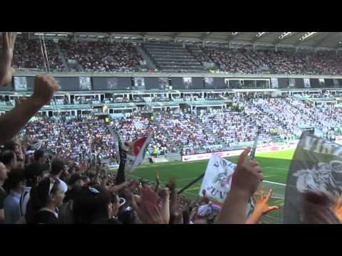 Juventus vs Parma 4 -1 curva sud