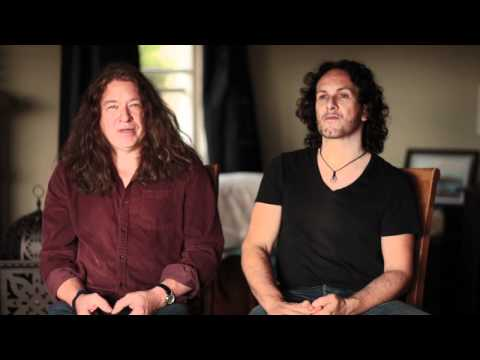 Buddy Blaze&Vivian Campbell - Introduction of 25th Anniversary of the Shredder at NAMM 2012