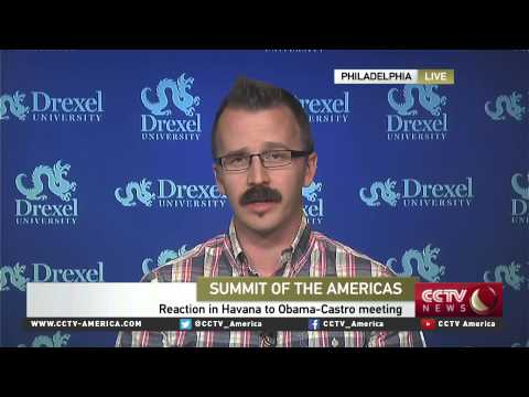 Political theorist George Ciccariello-Maher discusses US-Venezuela relations at the Summit