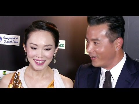 Fann Wong & Christopher Lee backstage interview, Star Awards 20