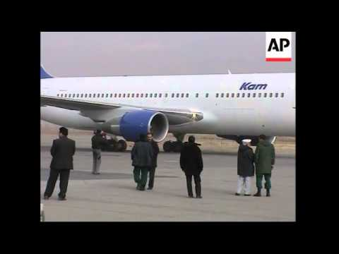 Kabul airport, FILE of Kam Air plane like one which is missing