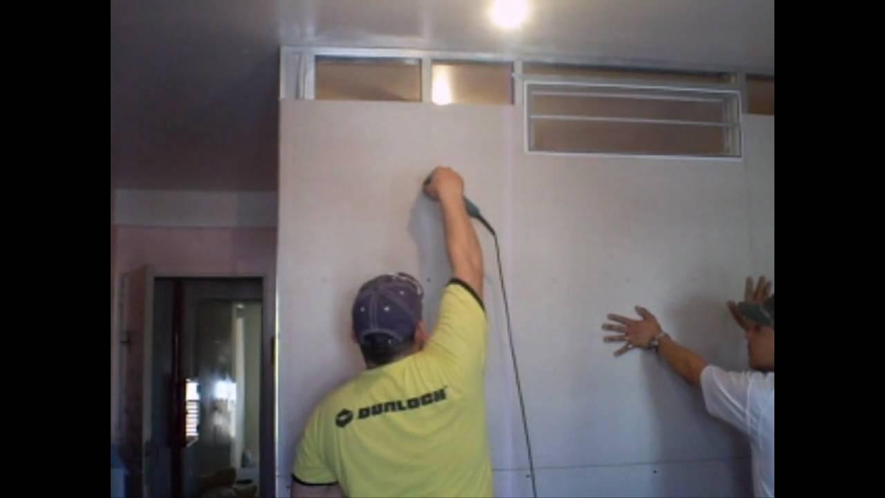 Joel orlando durlock www division de - Instalacion de pladur en paredes ...